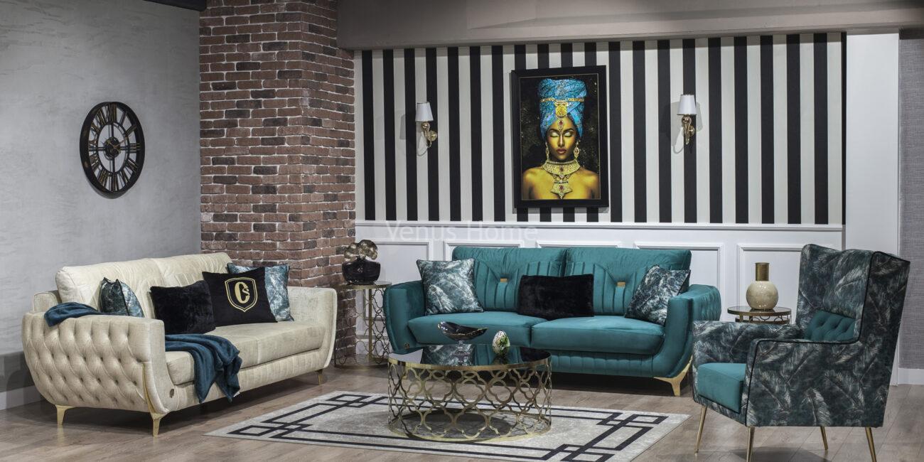 Garnie Sofa Set